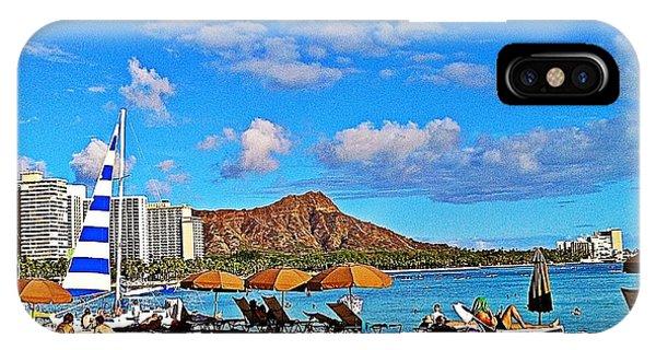 Waikiki IPhone Case