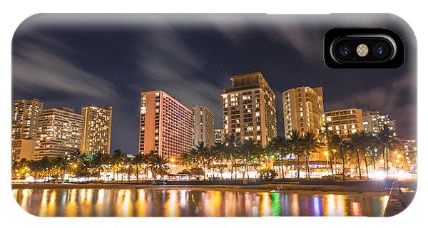 Waikiki Nights IPhone Case