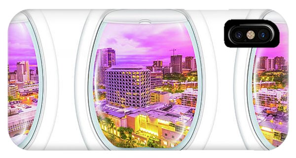 Waikiki Porthole Windows IPhone Case