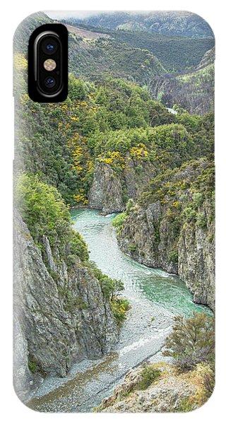 Waimakariri Gorge IPhone Case