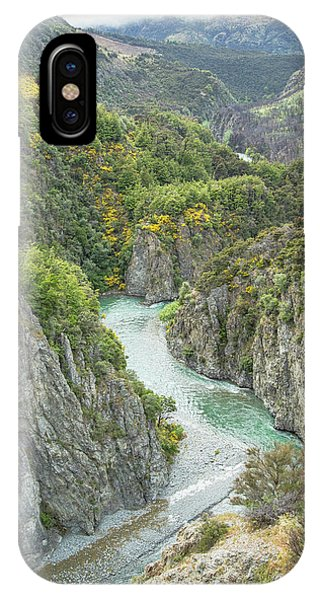 Waimakariri Gorge IPhone Case