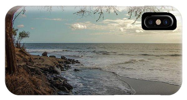 Waimea Bay Sunset IPhone Case