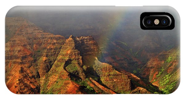 Waimea Canyon I IPhone Case