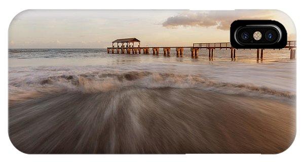 IPhone Case featuring the photograph Waimea Pier by Dustin LeFevre