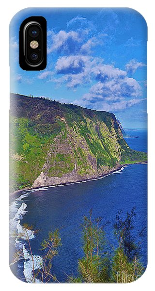 Waipio Overlook IPhone Case