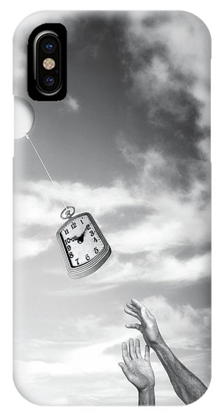 Reach iPhone Case - Wait A Minute by Tom Mc Nemar
