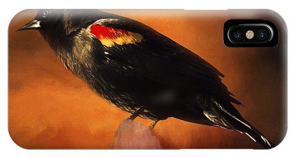 Waiting - Bird Art IPhone Case