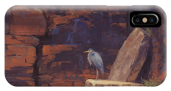 Heron iPhone Case - Waiting by Cody DeLong