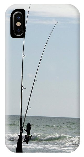 Waiting For The Bait IPhone Case