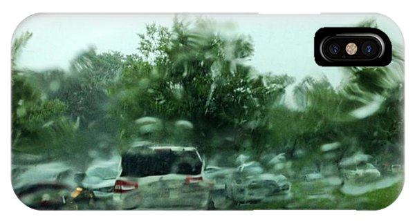Sports iPhone Case - Waiting For The Wet Stuff To Pass!! Big by Scott Pellegrin