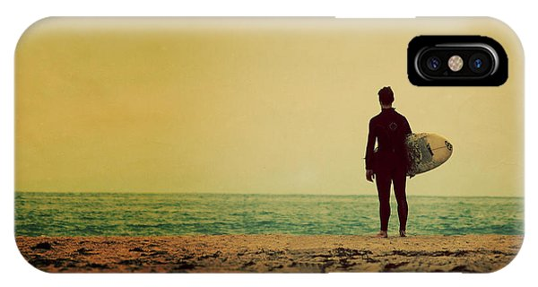 IPhone Case featuring the photograph Waiting In Venice by Melanie Alexandra Price
