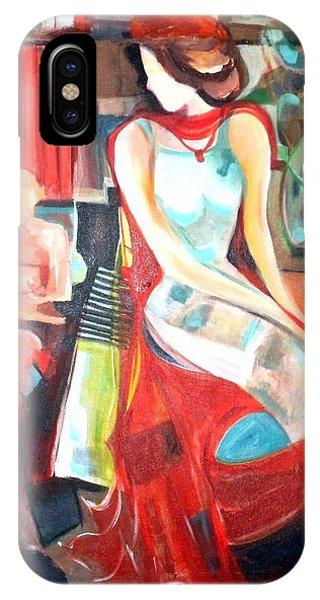 Waiting   Phone Case by Therese AbouNader