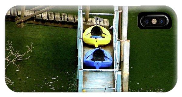 Waiting To Kayak IPhone Case