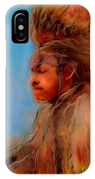 Wakantanka Maka Kin Kaye IPhone Case
