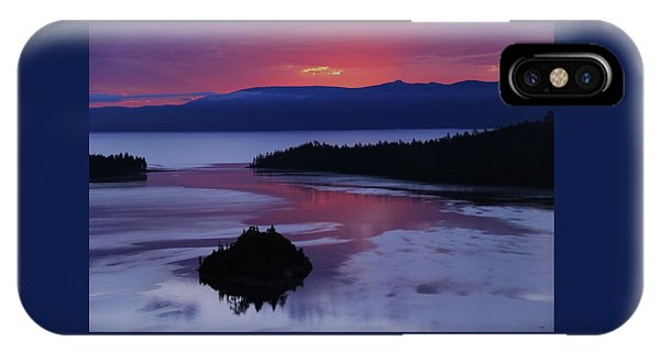 IPhone Case featuring the photograph Wake Up In Lake Tahoe  by Sean Sarsfield