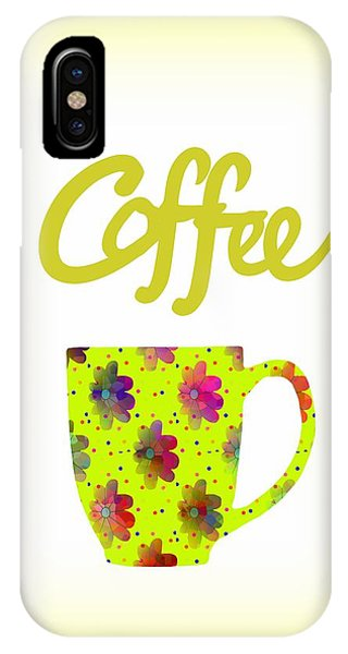 Wake Up To Coffee IPhone Case