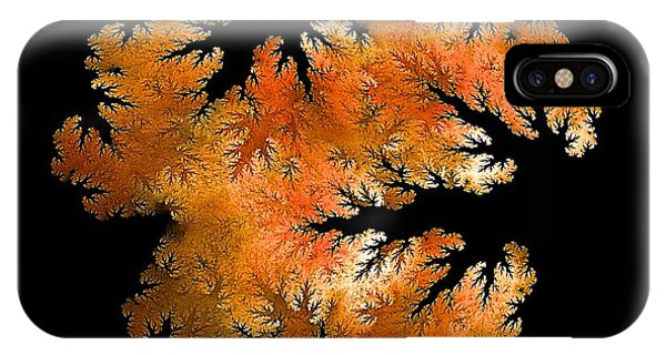 Waking In Mandelbrot Forest-2 IPhone Case