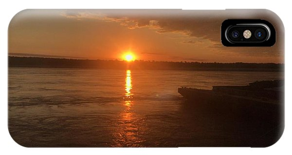 IPhone Case featuring the photograph Waking Up The River by Cindy Charles Ouellette