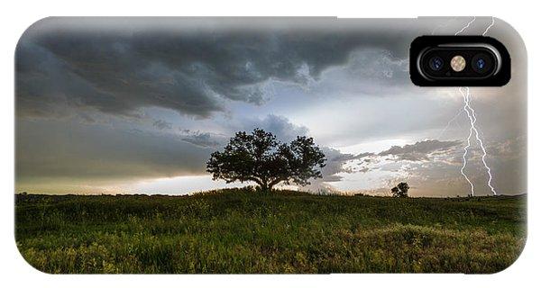 Split Rock iPhone Case - Wakinyan by Aaron J Groen