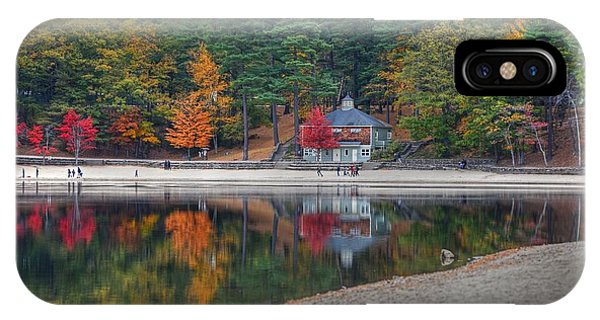 Walden Pond Bath House Concord Ma Beach IPhone Case