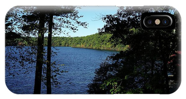 Walden Pond End Of Summer IPhone Case