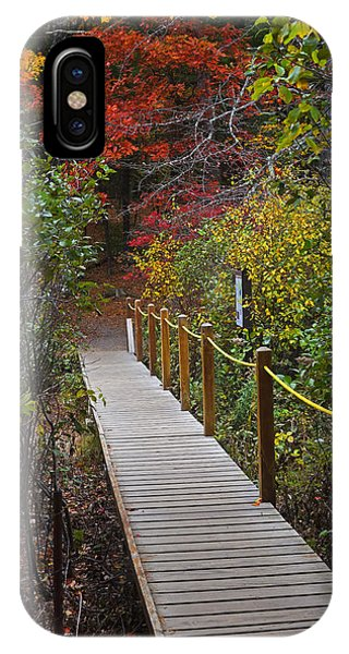 Walden Pond Footbridge Concord Ma IPhone Case