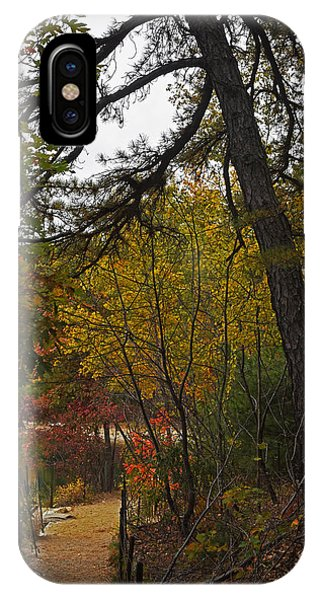 Walden Pond Path Into The Forest 2 IPhone Case
