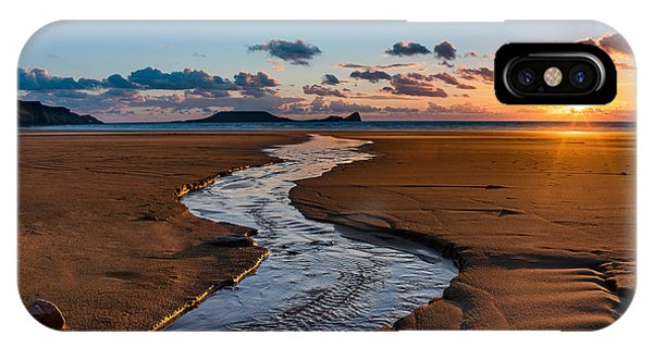 Wales Gower Coast IPhone Case