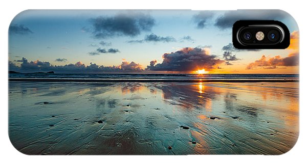 Wales Gower Coast Summer  IPhone Case