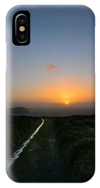 Walk Along The Coast At Eary Cushlin IPhone Case