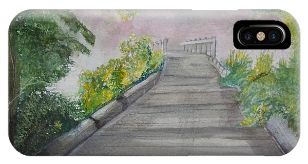 Walk In The Mist IPhone Case