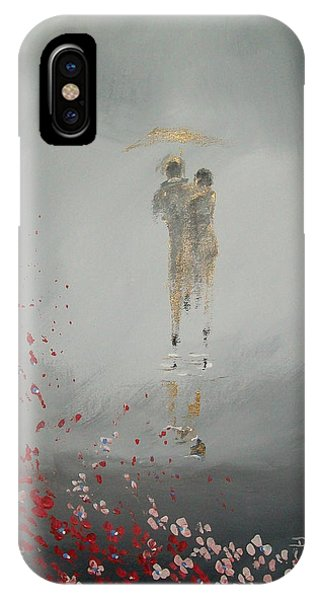 Walk In The Storm IPhone Case