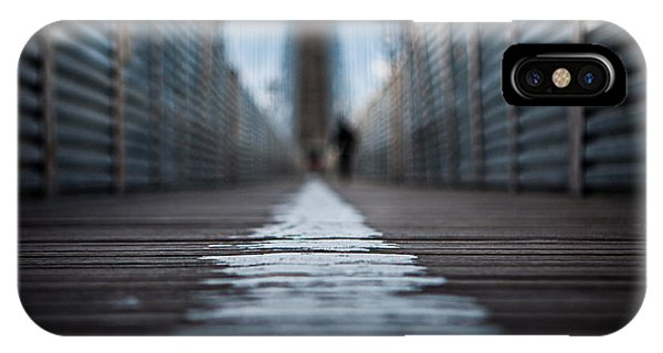 Walk The Line IPhone Case