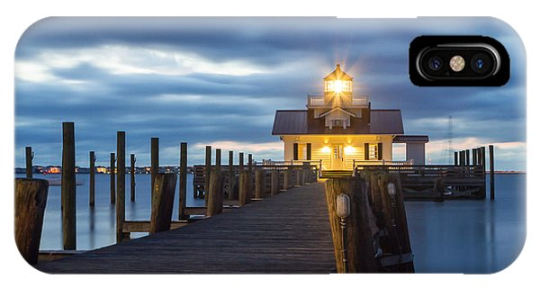 Walk To Roanoke Marshes Lighthouse IPhone Case