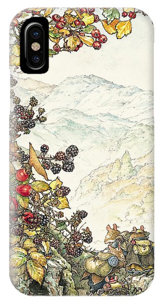 Explorer iPhone Case - Walk To The High Hills by Brambly Hedge