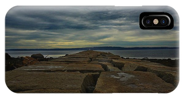 Walk To The Sea IPhone Case