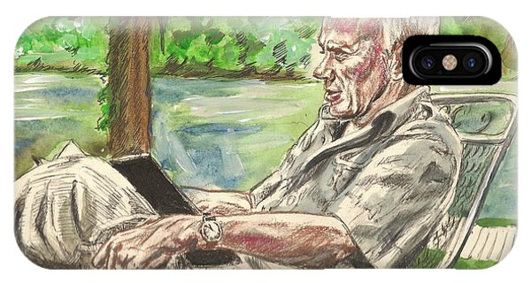 Walker Percy At The Lake IPhone Case