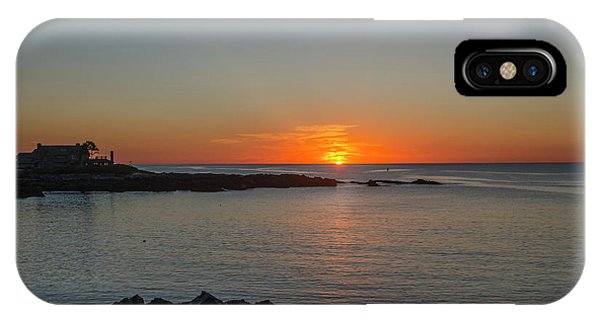 George Bush iPhone Case - Walkers Point Kennebunkport Maine by Bill Cannon