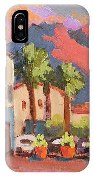 Walking Area In Old Town La Quinta IPhone Case