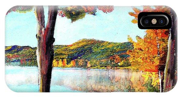 A Walk Down Lake Champlain IPhone Case
