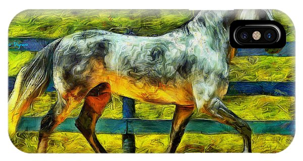 Walking Horse - Pa IPhone Case