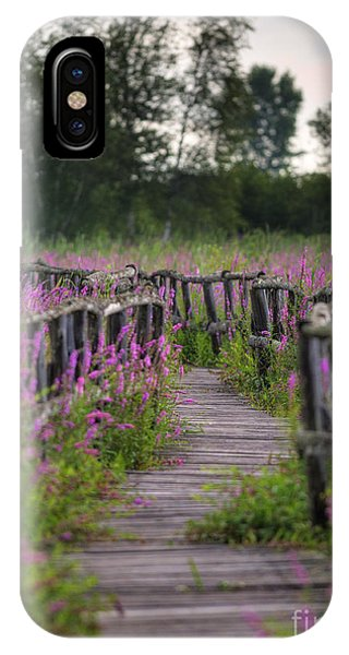 Walking In Magic... IPhone Case