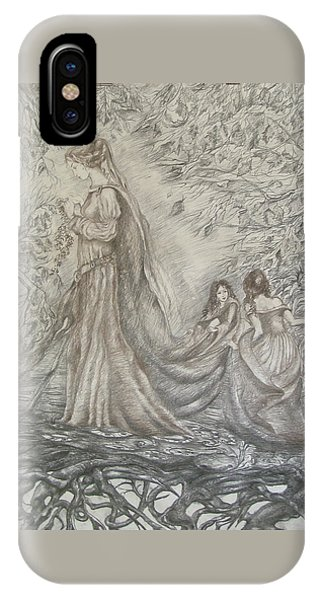 Walking In The Magic Garden IPhone Case