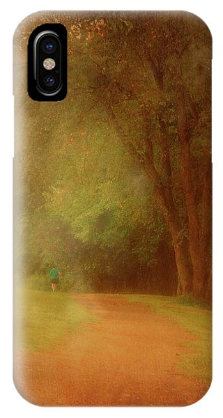 Walking Into A Dream - Holmdel Park IPhone Case