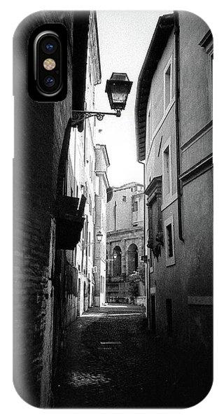 Walking Near The Campidoglio IPhone Case