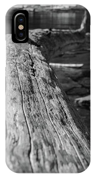 Walking On A Log IPhone Case