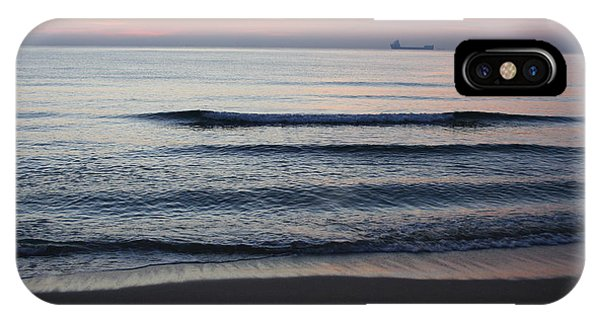 IPhone Case featuring the photograph Walking On Shore by Eric Christopher Jackson