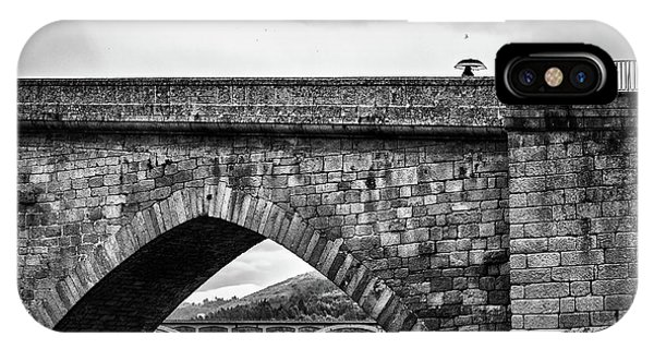 Walking On The Roman Bridge IPhone Case