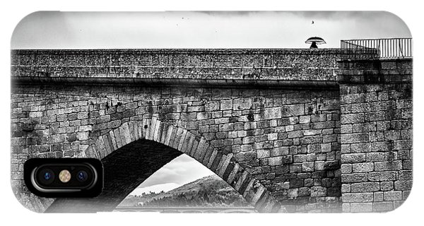 Walking On The Roman Bridge IPhone Case