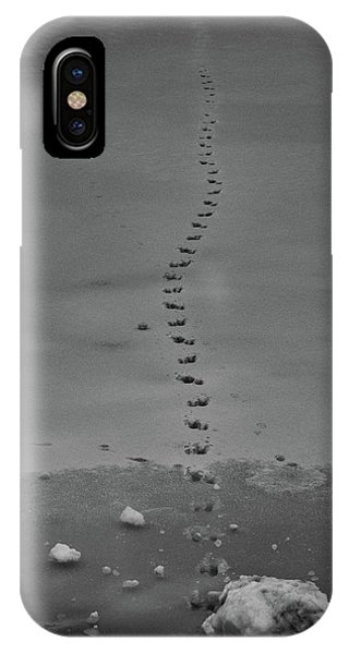 IPhone Case featuring the photograph Walking On Thin Ice by Jason Coward